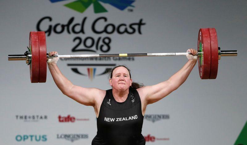 Rival: Transgender weightlifter Hubbard's presence in Tokyo unfair