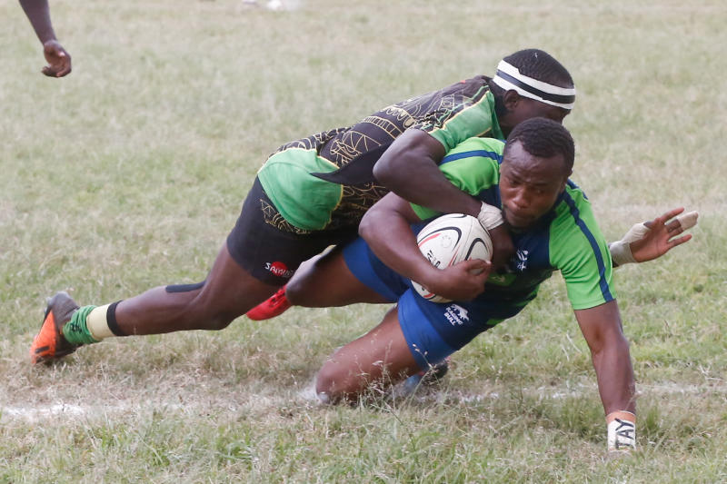 Rugby: Defending champions KCB open eight-point gap in Kenya Cup