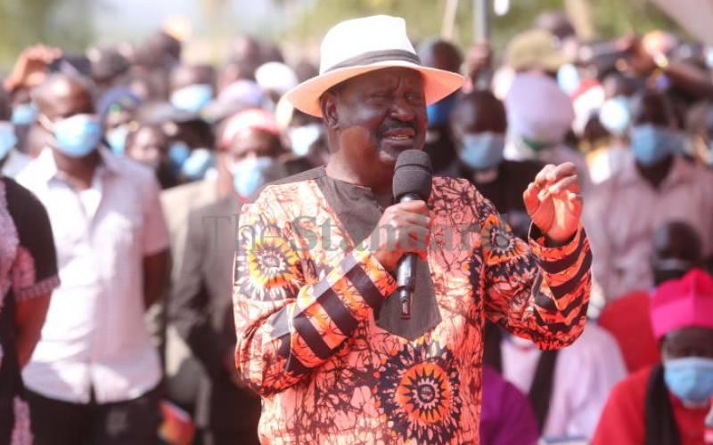 Run away, not towards tragedy, Raila says after Siaya fuel tanker explosion