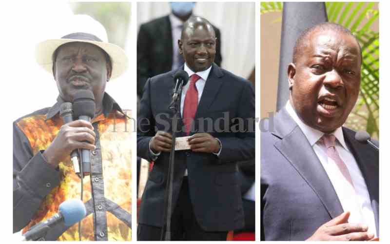 Ruto, Raila and Matiang'i lock horns in Bonchari by-election
