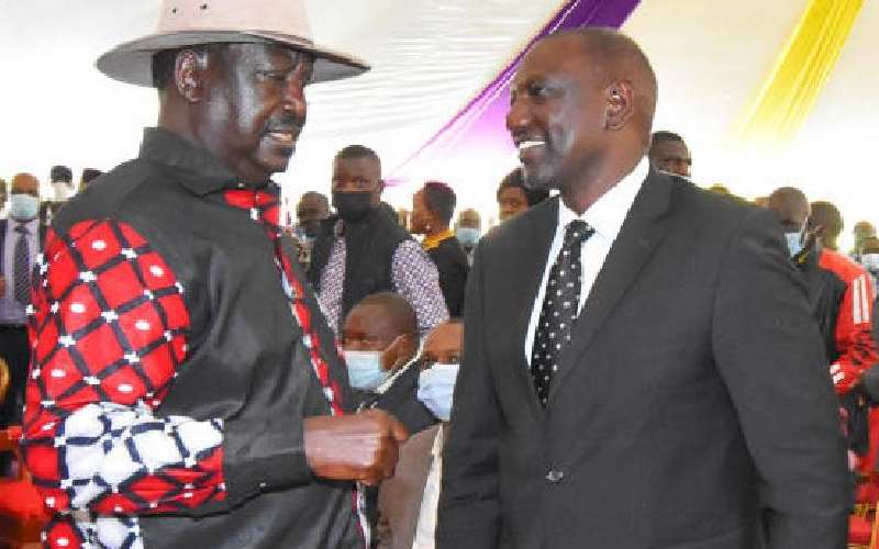 Ruto, Raila face dilemma in bid to distance themselves from Jubilee's economic failures