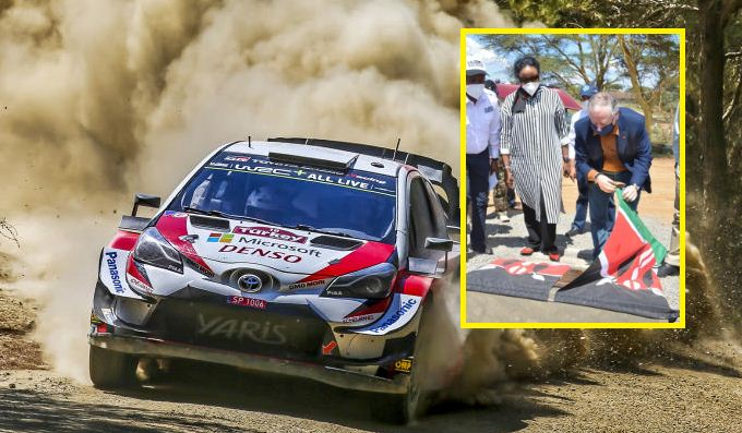 Security beefed up as hundreds arrive for WRC Safari Rally in Naivasha