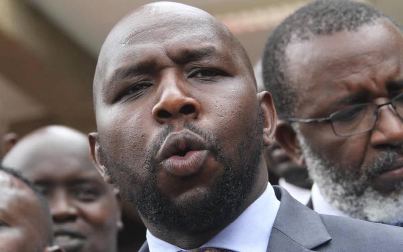 Bottom-up model is answer to runaway corruption - Murkomen