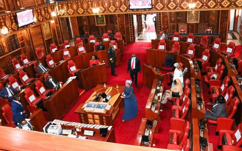 Senators tell of threats ahead of today's vote on county cash