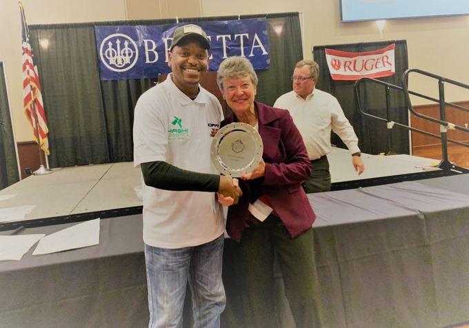 Sharpshooter Peter Njoroge wins IDPA High International award in USA