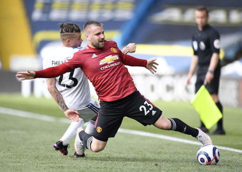 Shaw set for new Sh28 million-a-week Man United contract