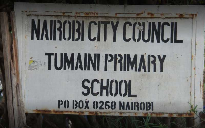 Shock as decomposing body in a sack found in school compound