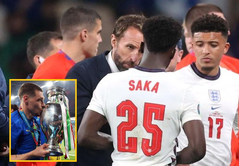 Southgate: England players must be proud but penalty takers my call