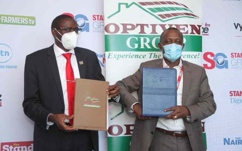 Standard Group inks a partnership deal with Optiven
