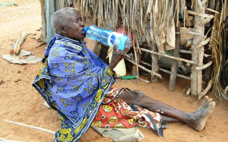Starving Kilifi residents stare at death as drought claims livestock