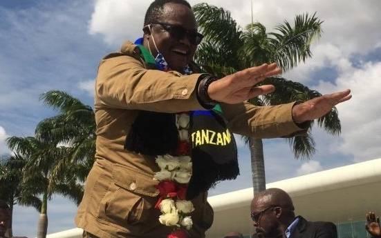 Tanzanian exiled politician Lissu jets back amidst jubilation