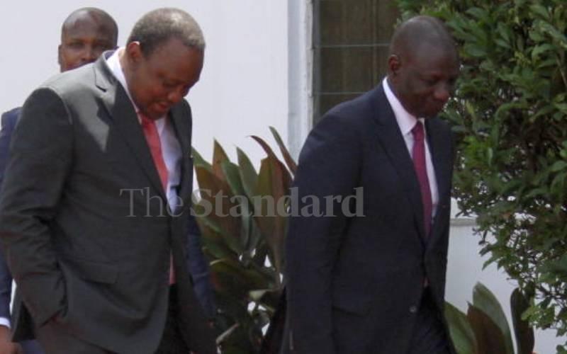 Tensions between Kenyan presidents and their deputies not new