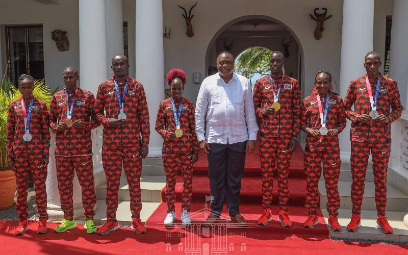 Tokyo 2020 Olympics Kenya gold medalists rewarded Sh1 million each
