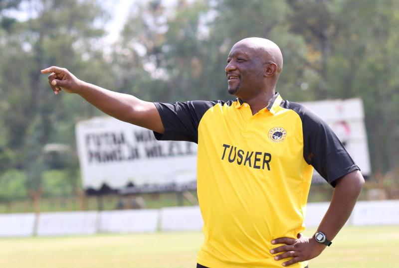 Tusker re-appoints Maina as new assistant coach