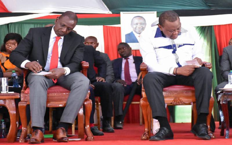 Uhuru kicks out Ruto allies as ties hit rock bottom