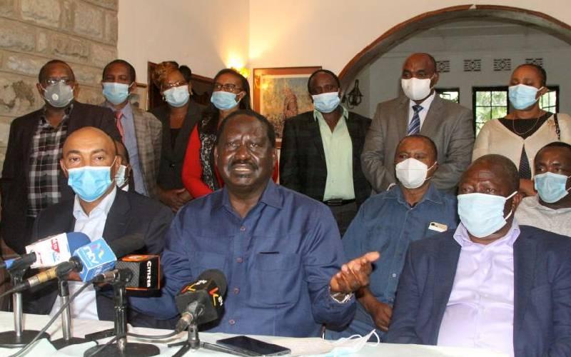 Uhuru, Raila to initiate BBI's signature drive