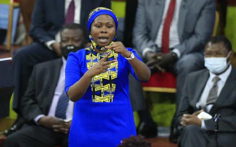 Uhuru second wife joke, wrong Bible verses light up day
