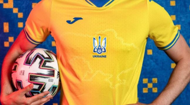 Ukraine's new soccer kit sparks outrage in Russia ahead of Euro