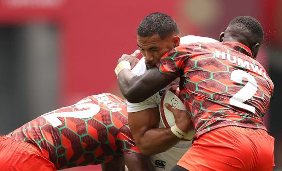 USA Olympic rugby 7's team beat Kenya
