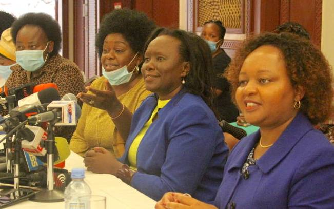 BBI report best arsenal for gender-rule issue, says Waiguru