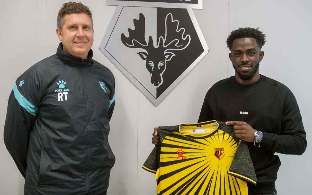 Kenyan international midfielder Henry Ochieng joins Watford