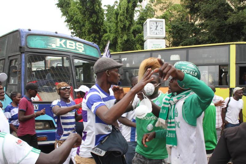 Who did it better? Gor Mahia and Ingwe fans breathe life into Nairobi [PHOTOS]