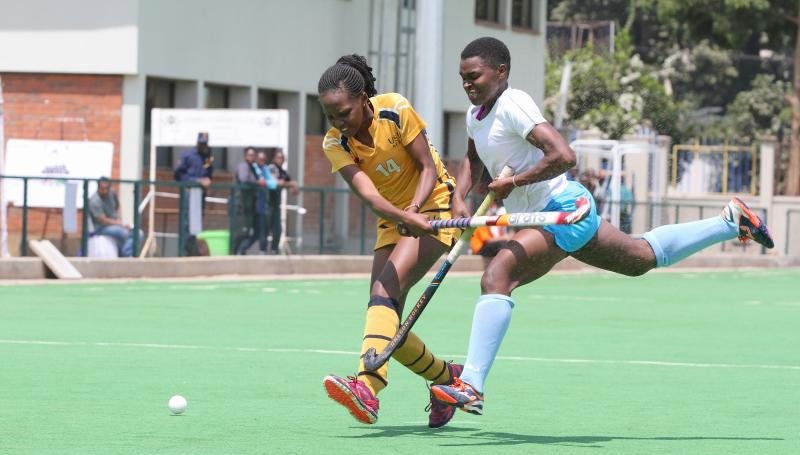 Why Blazers' Okumu ditched football boots for glory in hockey