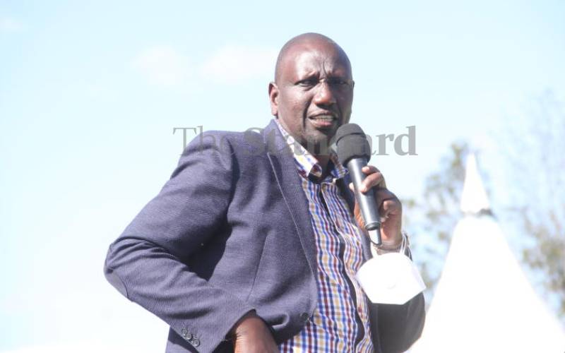 Why Ruto must jump ship in good time