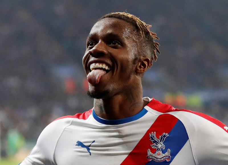 Wilfried Zaha teases Arsenal transfer with clear message