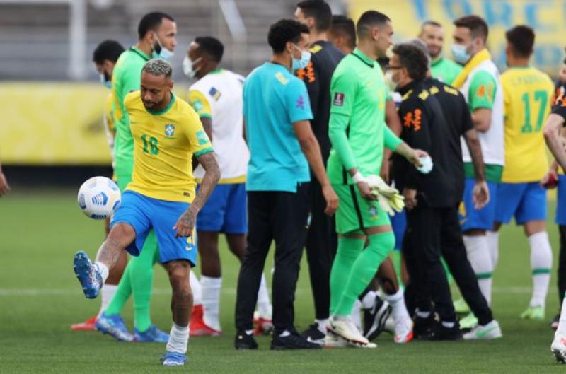 World Cup qualifier: Brazil v Argentina qualifier halted after health officials intervene