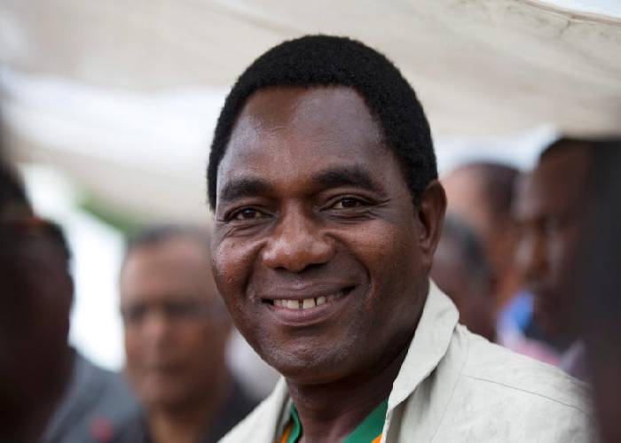Zambian new President Hichilema fires top army, police commanders