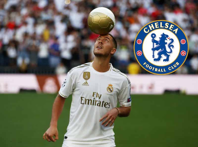 Zidane confirms Hazard is ready for Chelsea reunion