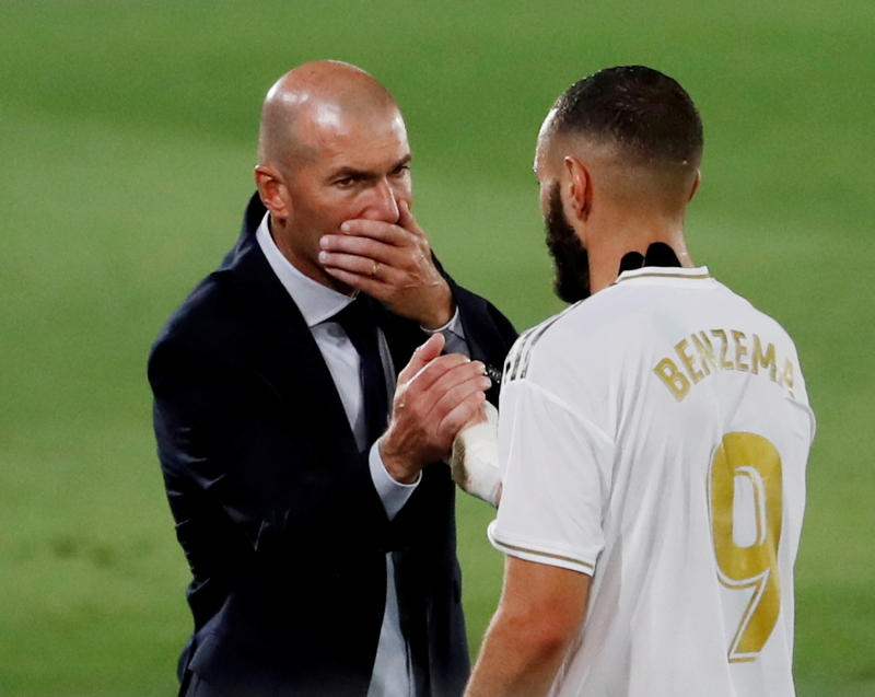 Zidane says Real's lack of faith led to his departure