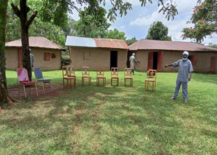 10 chairs only for Ruto's Kakamega church visit?