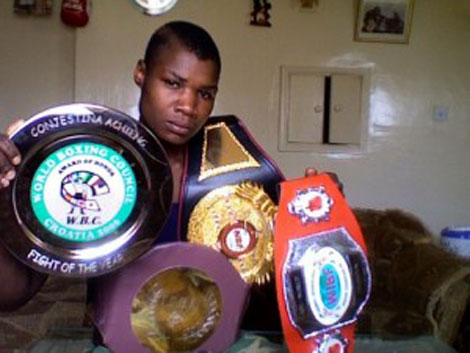 Boxing champion Conjestina Achieng released from  hospital