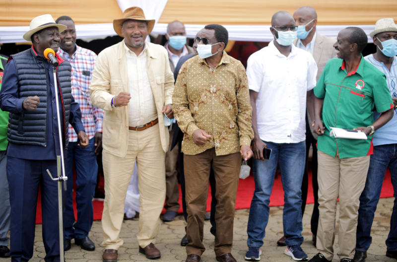 We are all hustlers, says Raila