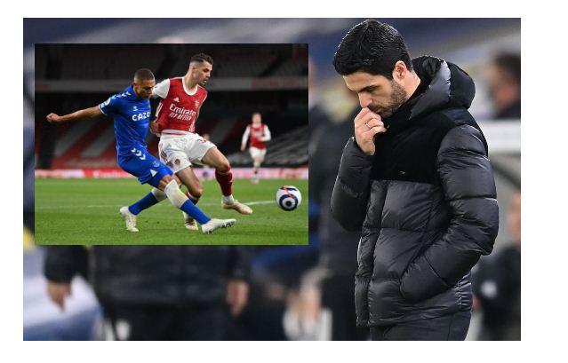 Arteta slams Arsenal's home form after Everton defeat