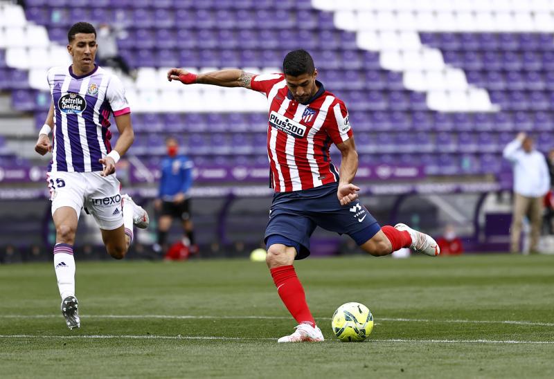 Atletico clinch La Liga title thanks to Suarez winner