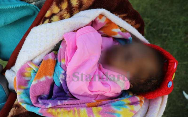 Baby who weighed 600g at birth 'in good health'