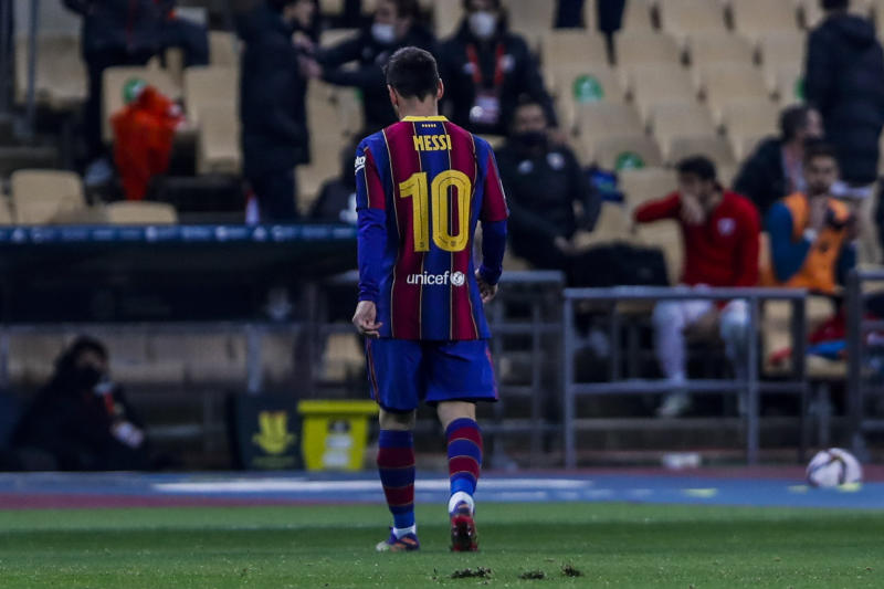 Barcelona appeal against Messi two-game ban rejected