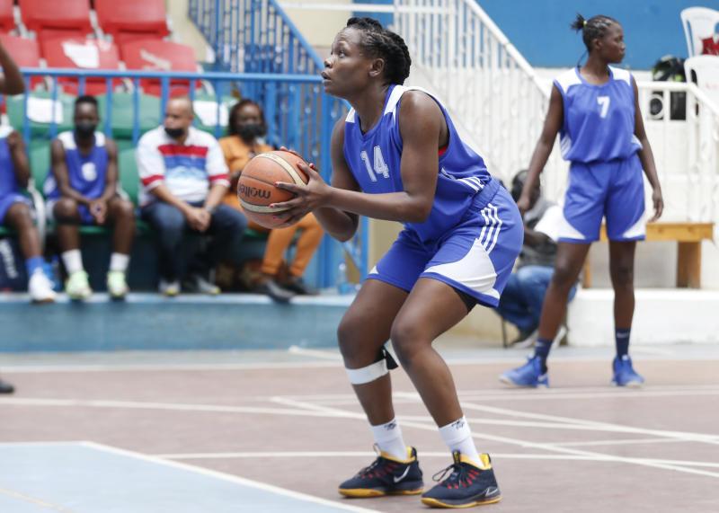 Basketball: Teenager Okot drops 15 points as KPA blowout Strathmore University