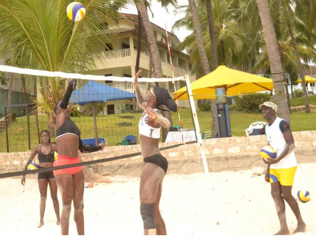 Beach volleyball team to camp in Mombasa