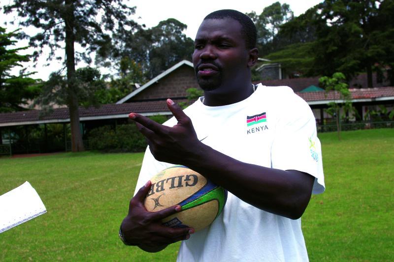 Benjamin Ayimba was set to start rugby academy in Nyanza, Kenya