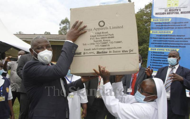 Key hospitals in Migori to benefit from Equity's PPEs for 18 months