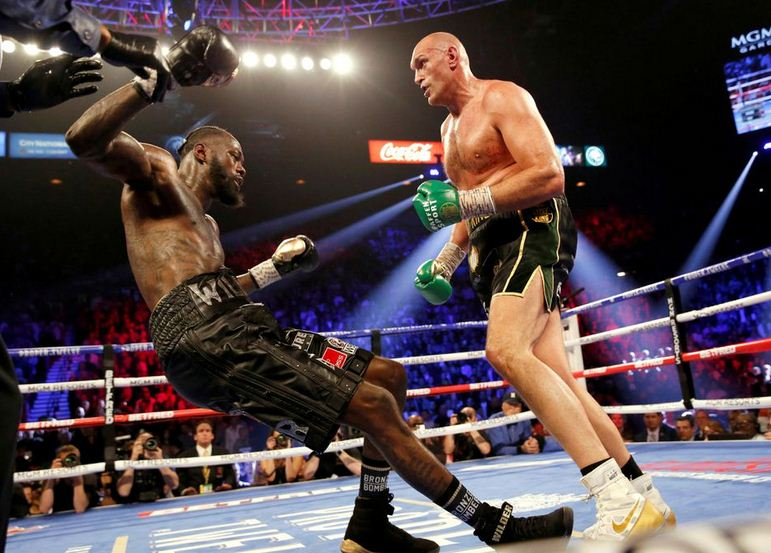 Boxing: Fury and Wilder post career-heaviest weights ahead of title fight