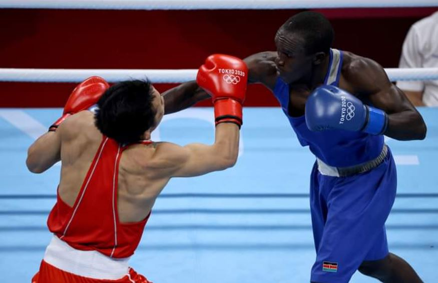 Boxing: Kenya's Okoth loses his first Olympic fight