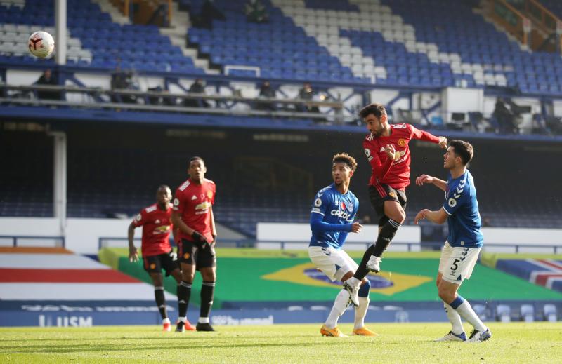 Everton 1-3 Man United: Bruno Fernandes powers Red Devils ...