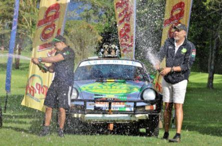 Chager wins KCB Nakuru rally in Soysambu Conservancy