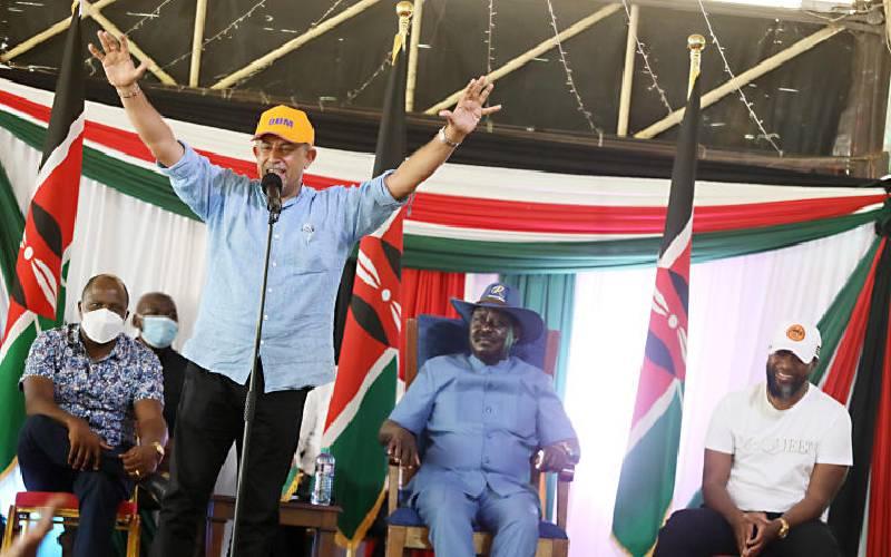 Coast endorses Raila, but gives tough demands