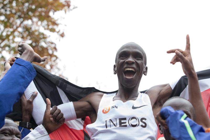 Coronavirus: Kenyan megastar Kipchoge urges athletes to remain positive